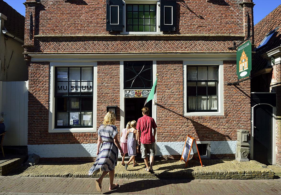 Entree Oudheidkamer Den Burg Texel