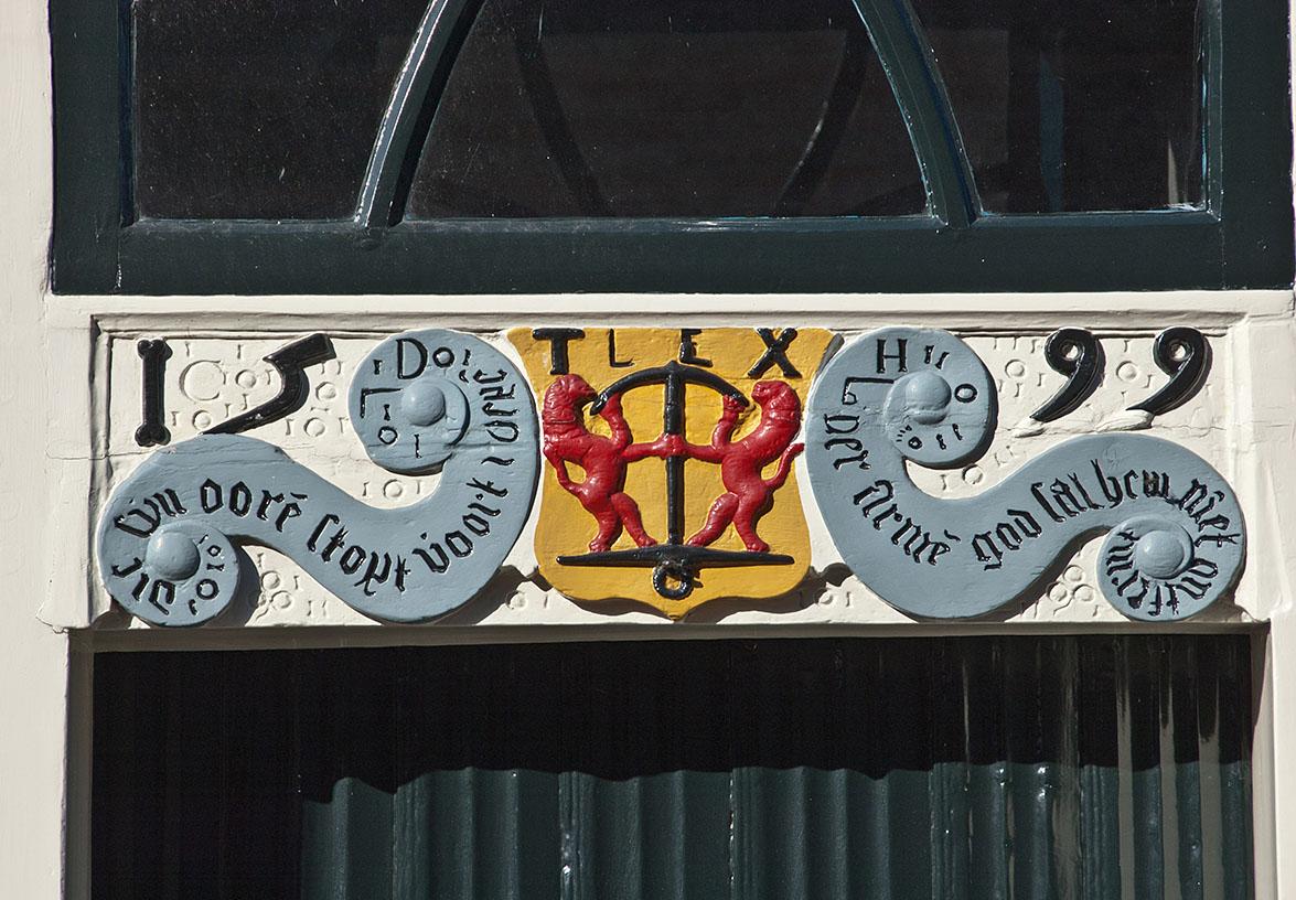 Gevelsteen Oudheidkamer Den Burg, Texel