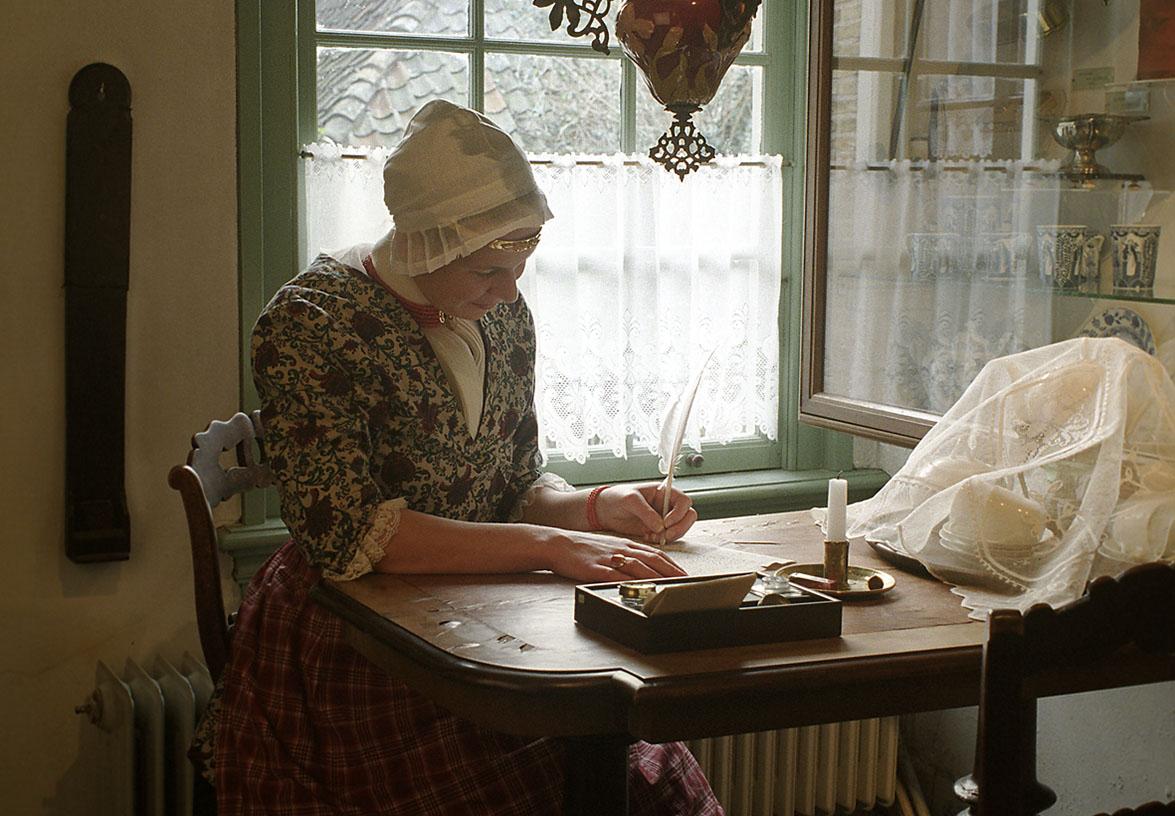 Aagje Luijtsen, zeemansvrouw, schrijft een brief
