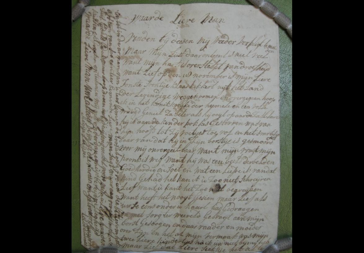 Brief 19 van Aagje Luijtsen aan Harmanus Kikkert.
