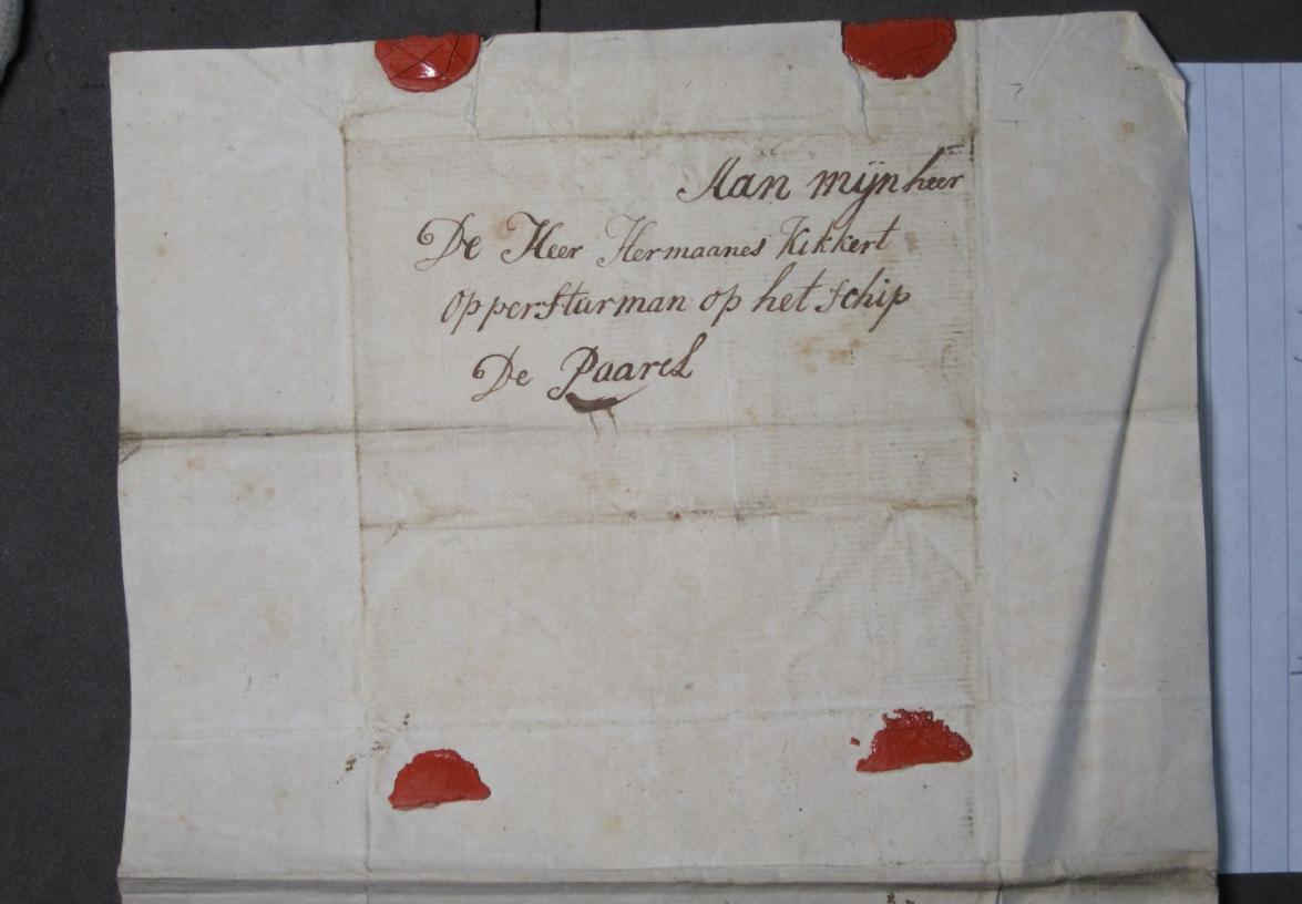 Brief van Aagje Luijtsen aan Harmanus Kikkert.