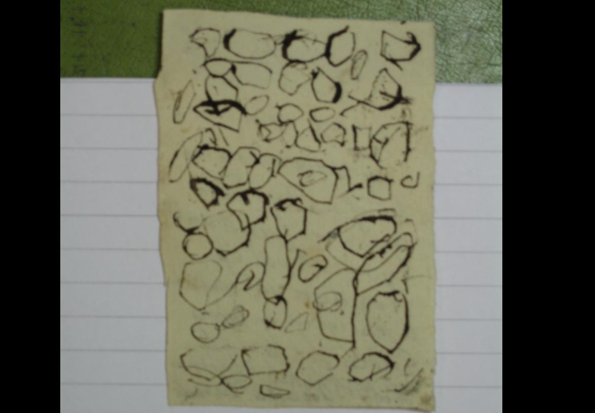 Briefje van Lammert Kikkert aan Harmanus Kikkert.