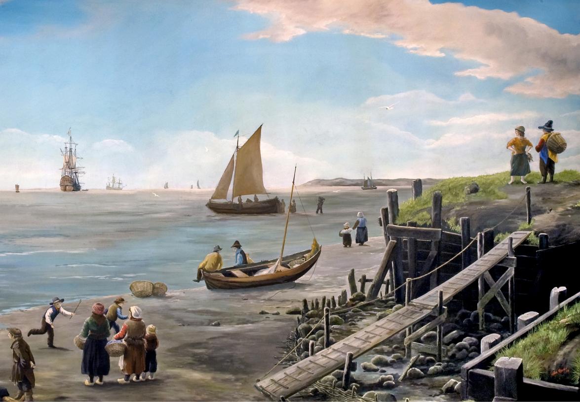Johan Reydon, De Reede van Texel, circa 1980 (Museum Kaap Skil, Oudeschild).